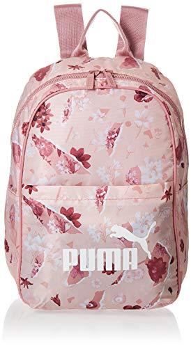 PUMA Wmn Core Seasonal Backpack Mochilla, Mujer, Peachskin/AOP, Talla única