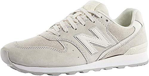New Balance Damen WR996-WPB-D Sneaker, Creme Weiß, 40.5 EU