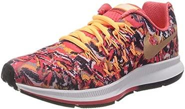 Nike Boy's Zoom Pegasus 33 Print Grade School Athletic Sneakers Orange Size 5
