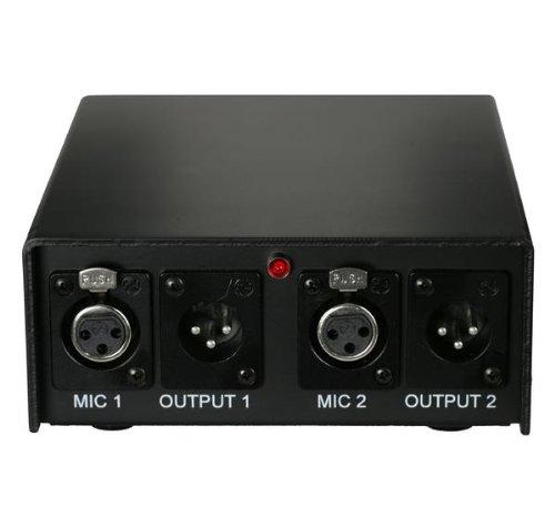 Audix APS2 2-Channel 48V Phantom Power Supply