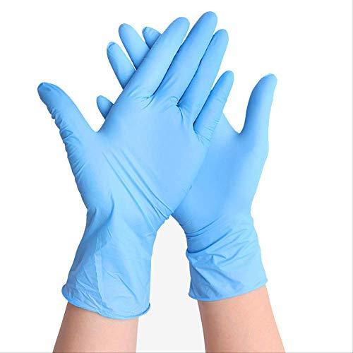 Nitril Einweghandschuhe,100/100 Stück Nitril-Latex-Einweghandschuhe Für Die Küche Medizinischer Garten Haushaltsreinigung Gummischale Waschen Waschhandschuhe Größe: Xl