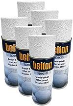 Belton - Espray de efecto granito (6 unidades, 0,4 L), color blanco