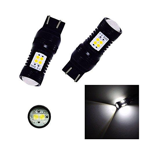 PA2 X T20 7443 7440 14smd (3030 LED) Ultra Lumineux 3030 Chipset 7440 7441 7443 7444 992 ampoules LED avec Vidéoprojecteur Xenon Blanc