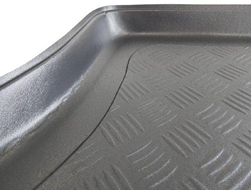 ZentimeX Z999679 Kofferraumwanne fahrzeugspezifisch schwarz RIFFELBLECH-DESIGN