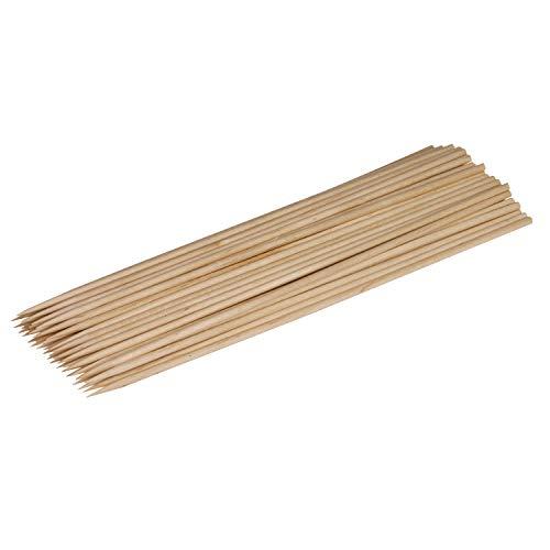 amscan–550356–50Stachelreihe Holzspieße–20cm