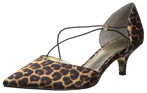 Adrianna Papell Women's LACY Pump, Brown, 9.5 M US