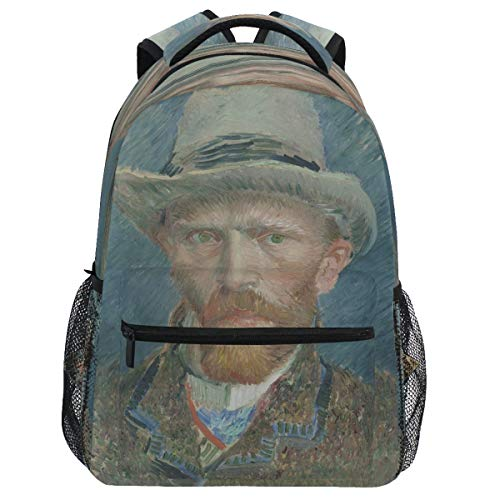 Oarencol - Mochila de pintura con diseño de Vincent Van Gogh