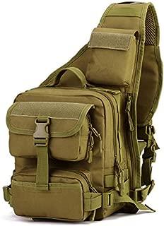 VARUIRA Tactical Sling Bag Backpack One Shoulder Chest Messenger Bag Leisure Outdoor Sports Travel Hiking