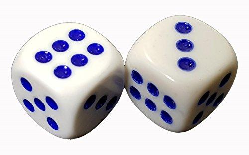 Einkaufszauber Zauberwürfel weiß AS, der Immer auf die 6 fällt