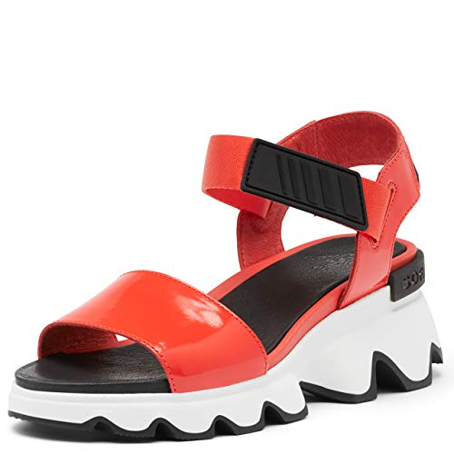 Sorel Women's Kinetic Sandals - Signal Red - Size 10.5