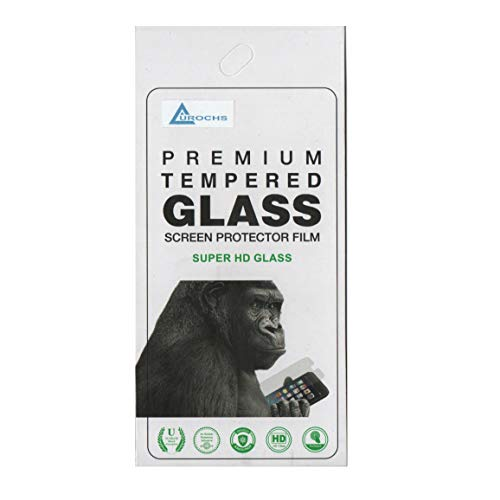 AUROCHS Premium Tempered Glass Screen Protector for Vivo V20 SE (Transparent)