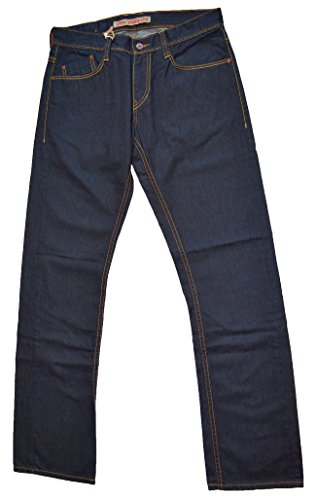 MUSTANG New Oregon Slim fit 3119-5178-098 Jeans Hose, Dunkelblau (W28/L34)