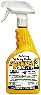 Avenger Organics Weed Killer Ready-to-Use Roundup Glyphosate Alternative 24 Ounce