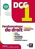 DCG 1 - Fondamentaux du droit - Manuel et applications