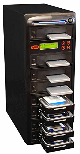 Systor 1 to 7 SATA 150MB/s HDD SSD Duplicator/Sanitizer - 3.5