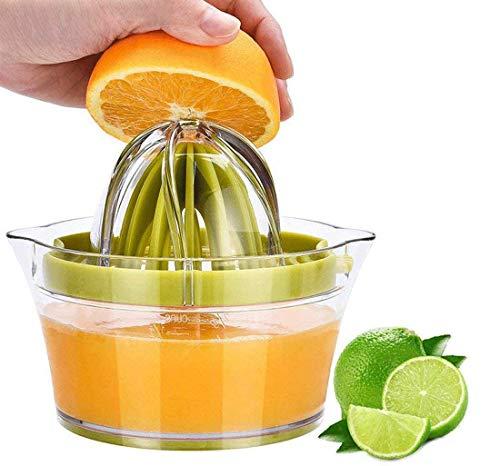 Rlanos Manual Citrus Juicer, Orange Juicer, Lemon Squeezer, Hand Squeezer Juicer, Orange Squeezer, Manual Juicer for Fruits (Green)