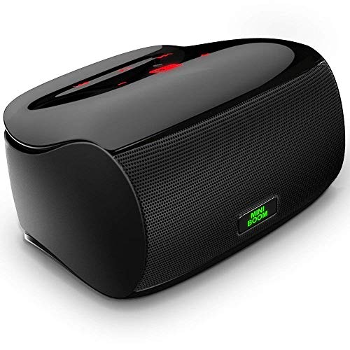 Mighty Rock Touch Bluetooth Speakers Portable Wireless Speaker with Superior Sound Quality and Dual Powerful Subwoofer Enhanced Rich Bass, Built in Microphone