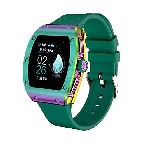 ZYY M13 Smart Watch, presión Arterial, Monitor de frecuencia cardíaca, síntomas fisiológicos Femeninos, pulsador de Clima, Reloj Inteligente Impermeable IP68 para Android iOS,C