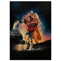 長編映画のポスターに戻る大人と子供の5Dダイヤモンド絵画キットDIYフルダイヤモンドクリスタルラインストーン刺繡クラフト写真家の壁の装飾(正方形40x50cm)