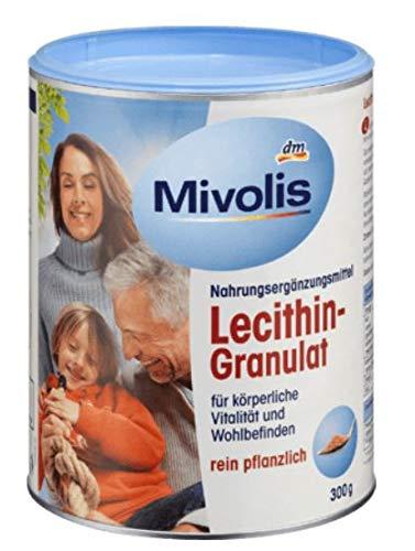 Lecithin-Granulat - Für körperliche Vitalität und Wohlbefinden - Rein Pflanzlich - 300g