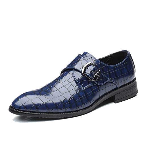 PIXIEY Zapatos Formales para Hombres Hechos a Mano Zapatos Oxford de Cuero...