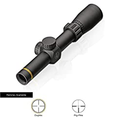 Leupold Model #174176 - VX-Freedom 1. 5-4x20mm with Duplex reticle and Matte finish 100% Waterproof, fog proof, & shockproof Made with 6061-T6 aircraft quality aluminum and punisher tested to a lifetime of performance even under harshest recoil Twili...