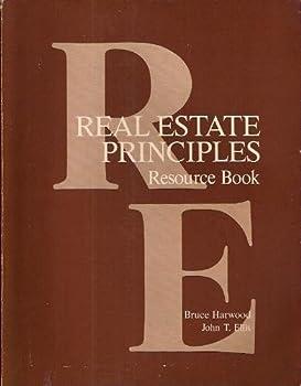 Paperback Real Estate Principles: Resource Bk Book