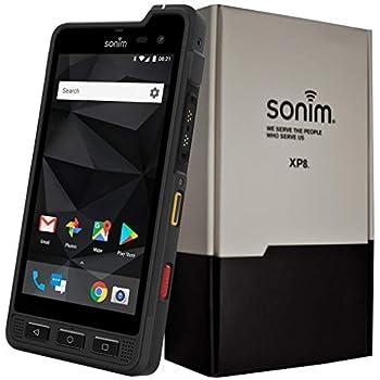 Sonim XP8 XP8800 Dual-SIM 64GB IP68/IP69  GSM Only No CDMA  Factory Unlocked 4G/LTE Rugged Smartphone  Black  - International Version