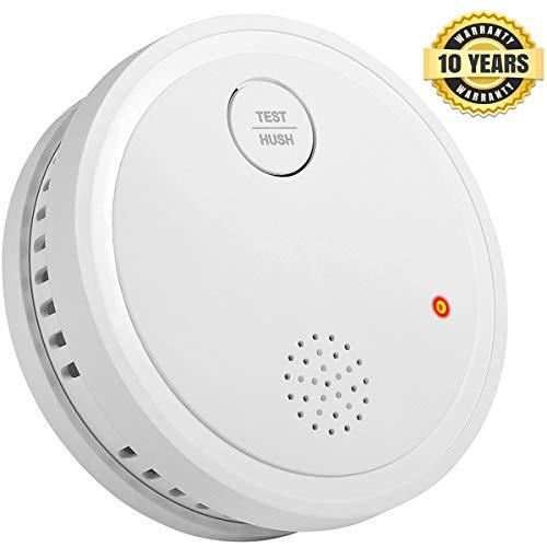 Semoss Alarmas de Seguridad Para Casa Detector de Humo 10 A
