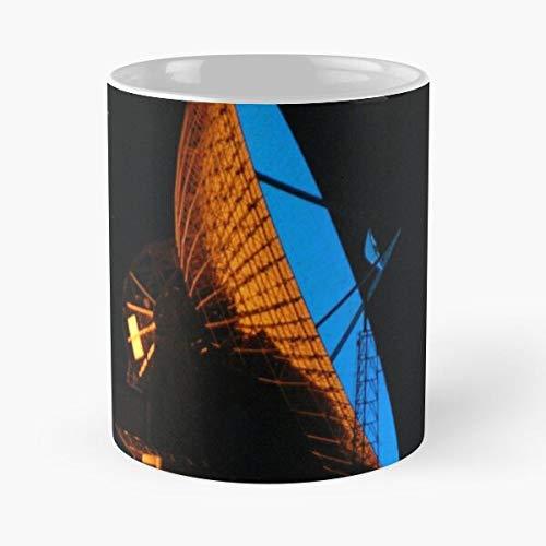 Australia Western Dish Carnarvon Satellite Night Best 11 Ounce Ceramic Coffee Mug