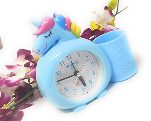 Fete Propz Unicorn Alarm Clock with Pen Stand