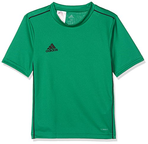 adidas Kinder CORE18 Y Jersey, Grün (bold green/schwarz), 128