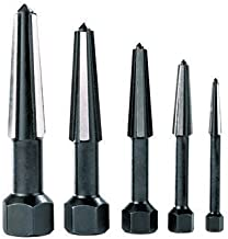 Rennsteig Dual-edged (Easy Out) Screw Extractors 5-piece Set in Plastic Tube