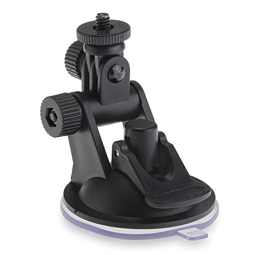 SODIAL(R) Soporte de Ventosa de coche para camara GoPro Hero GPS