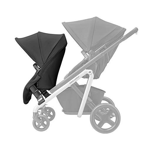 Bébé confort Lila Duo Kit complémentaire, Seconde assise, Transforme Lila en Poussette double canne, Poussette duo, Convient de 6 mois à 3 ans et demi environ, 0-15 kg, Nomad Black