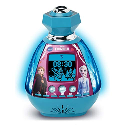 VTech KidiMagic Frozen 2 Wecker mit Stimmung hellblau