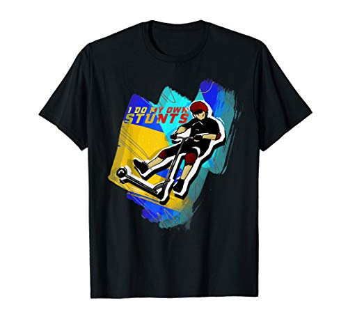 Stunt Scooter E-Scooter Roller T-Shirt
