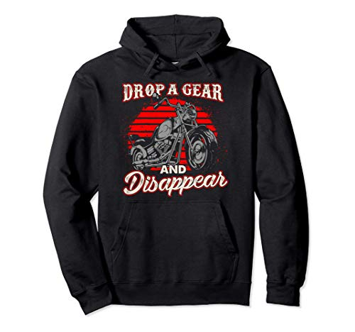 Motorcycle Gift Biker Gift Drop A Gear And Disappear...