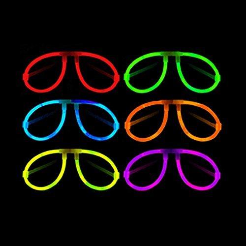 La Vida en Led 25 Gafas Luminosas Aviador Glow Entrega 1-3 DÍAS