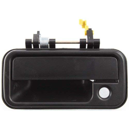 Exterior Door Handle for ISUZU PICKUP 88-95 Front LH Outer Plastic Textured Black w/Keyhole
