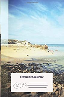 Composition Notebook: St Ives Cornwall Composition Notebook for Journaling, Note Taking in schools