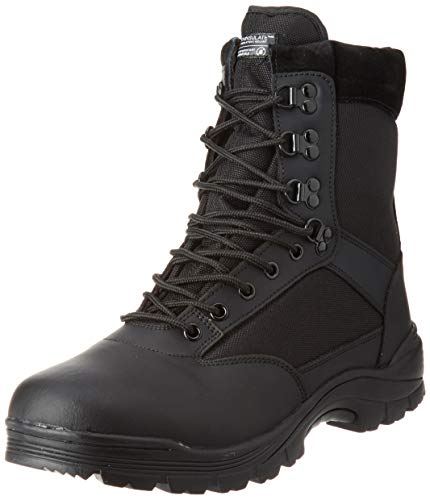 Tactical Boot mit YKK-Zipper,43 EU,Schwarz