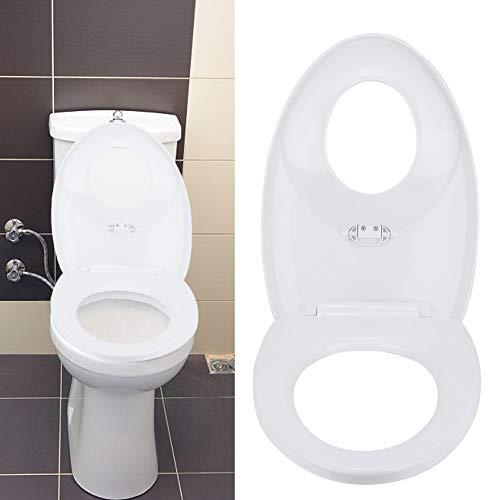 Uitla design wc-bril, wc-deksel voor volwassenen en kinderen, toiletbril, eenvoudige potentraining, verlengde familie-toiletdeksel