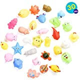 Conjunto de 30 Animales de Granja flotantes de Colores Brillantes - Ideal para...