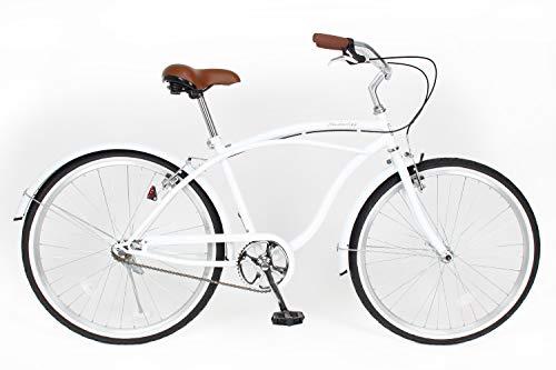 21Technology ビーチクルーザ— (26インチ) 自転車 シティサイクル 街乗り 通勤 通学 BC260