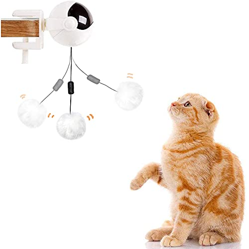 猫おもちゃ 電動 ボール 猫じゃらし 猫遊び 自動 ストレス解消 猫じゃらし 運動不足解消 猫のおもちゃ ネコ おもちゃ