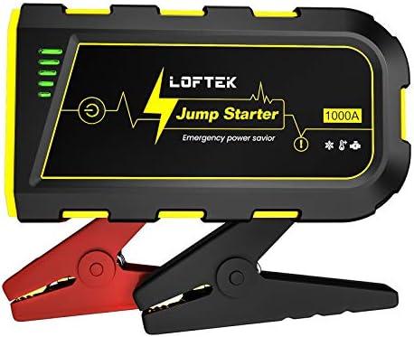 LOFTEK Portable Car Battery Jump Starter Up to 7 0L Gas or 5 5L Diesel Engine 12V Power Pack product image