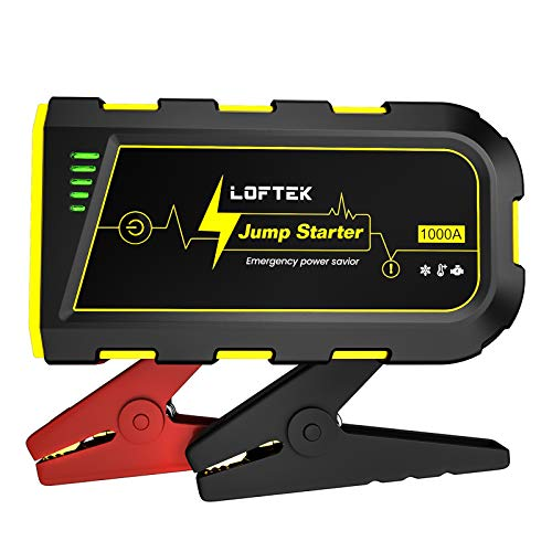 LOFTEK Portable Car Battery Jump Starter (Up to...