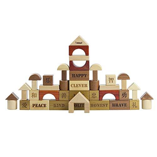 GG-kids toys Journal Bloque Les Gros Jouets en Bois Jouets éducatifs pour Enfants Jeux de Table de Jouets en Bois