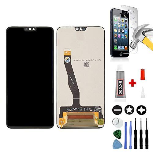 Mobilevie Vetro Touch e Schermo LCD Originale, Pronto da Montare, con Strumenti per Huawei Honor 8X, Colore: Nero